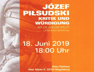 Józef Piłsudski Vortrag und Diskussion
