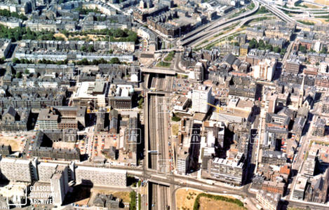 Charing Cross - Aerial View