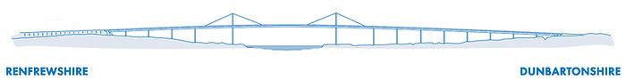 Erskine Bridge - Elevation Drawing