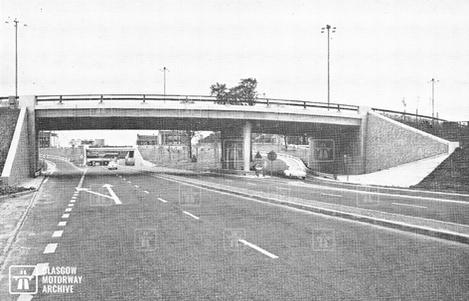Clyde Tunnel - North Approach