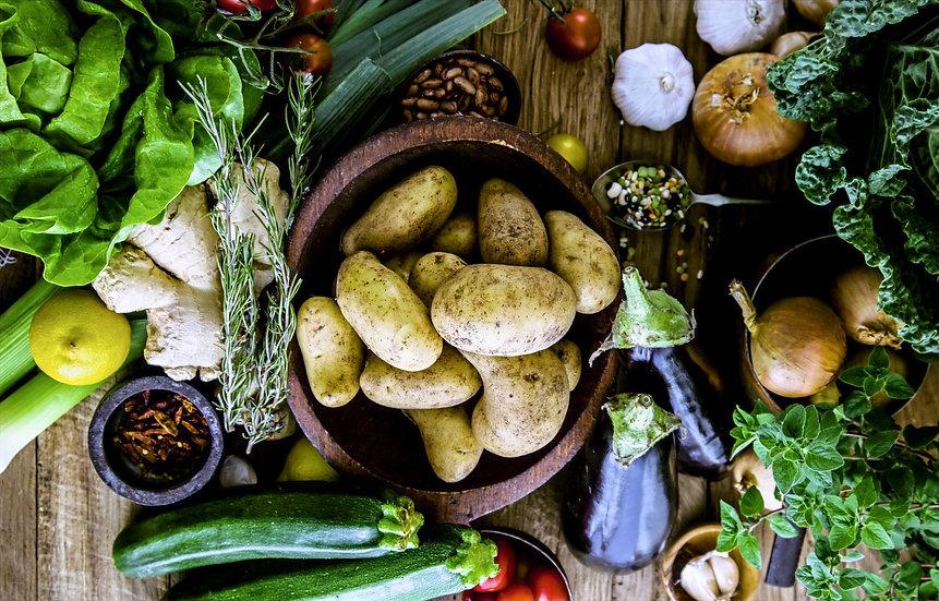 Organic Fruit & Veg Box (Medium)