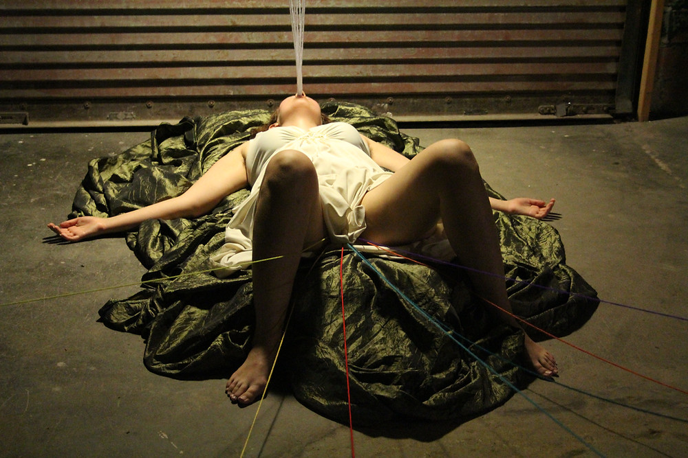 Julia Claire Wallace Performing in Submission 2013
