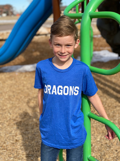 Blue Dragons Tee (Youth/Adult)