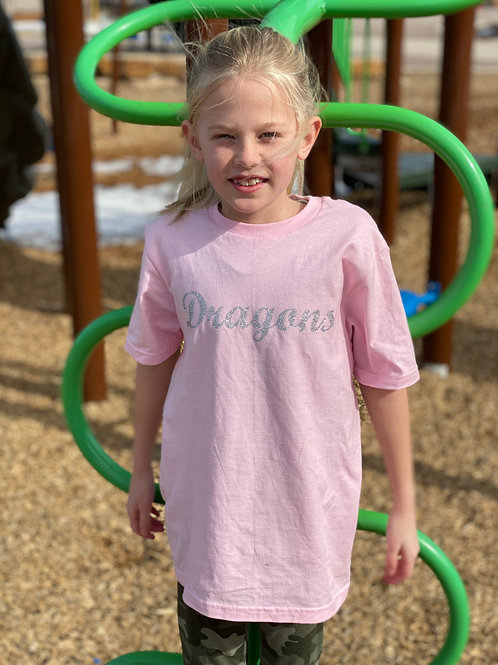 Pink Dragons Tee (Youth/Women)