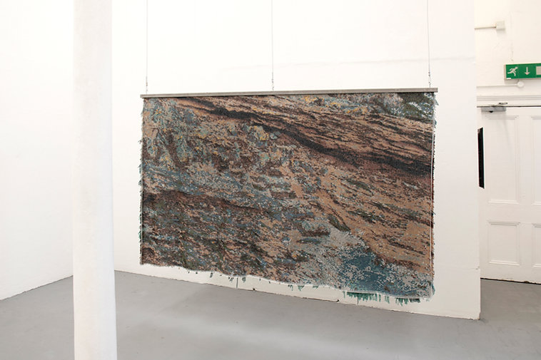 Seungwon Jung_Siccar Point_hand knotted