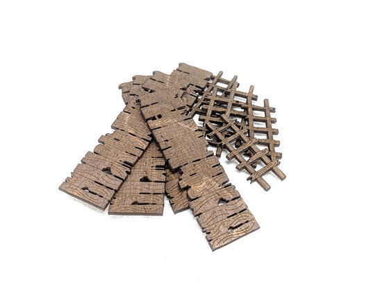 Gangplanks and Ladders Set of 5 Each