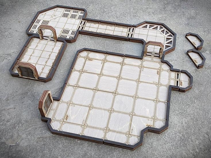 Sci-Fi Dungeon Tile Starter Set