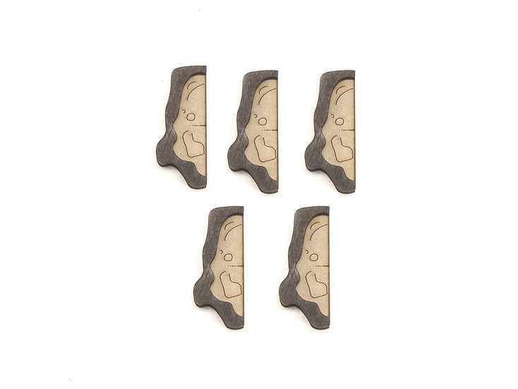 Cavern - Connector - Cap A (set of 5) Add-On Dungeon Tile, Ready for Use