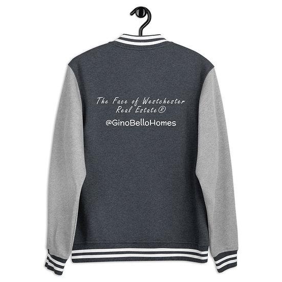 Men's Letterman Jacket - Back Design