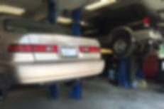 Sandy's Towing & Auto Repair Garage Bays
