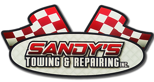 Sandy's Towing & Auto Repair offers 24/7 Towing services to many areas in MA & RI. Call us today, we can help you! • (401) 765-4411 • Woonsocket, RI 02895