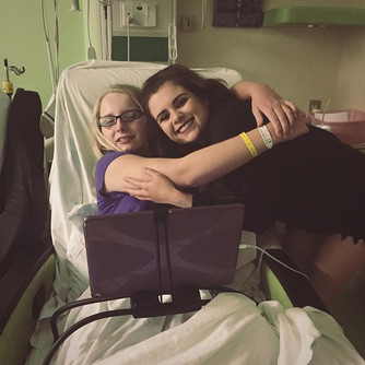 Surprised & spent the evening with this beautiful and brave sister of mine.jpg