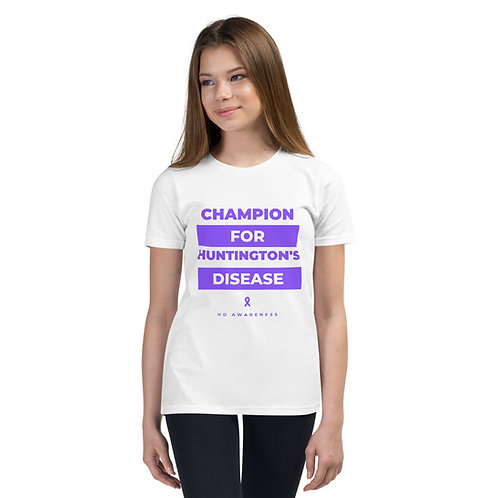 HD Awareness Youth Short Sleeve T-Shirt