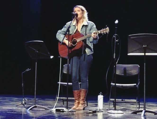 Performer at Champions for HD's first ever benefit concert.