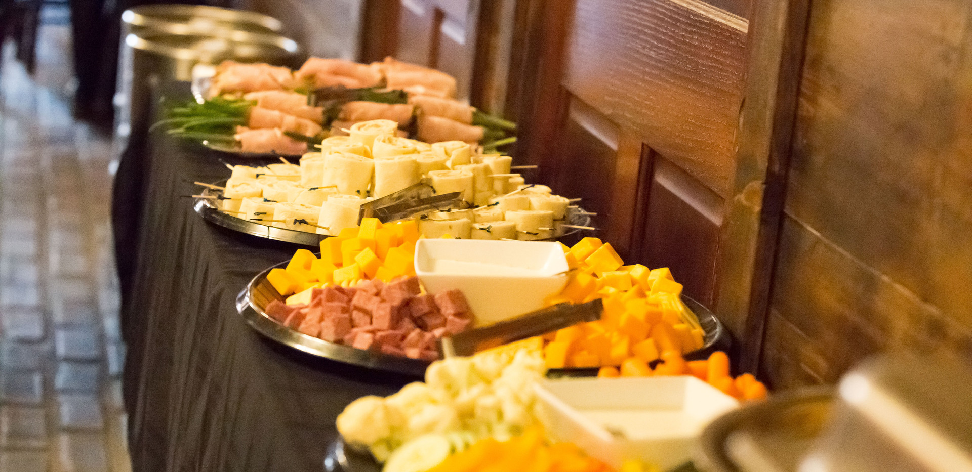 Some of the snacks provided at South Haven Brew Pub.