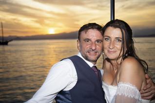 les mariés sur le clara one