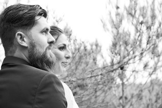 mariés white en black