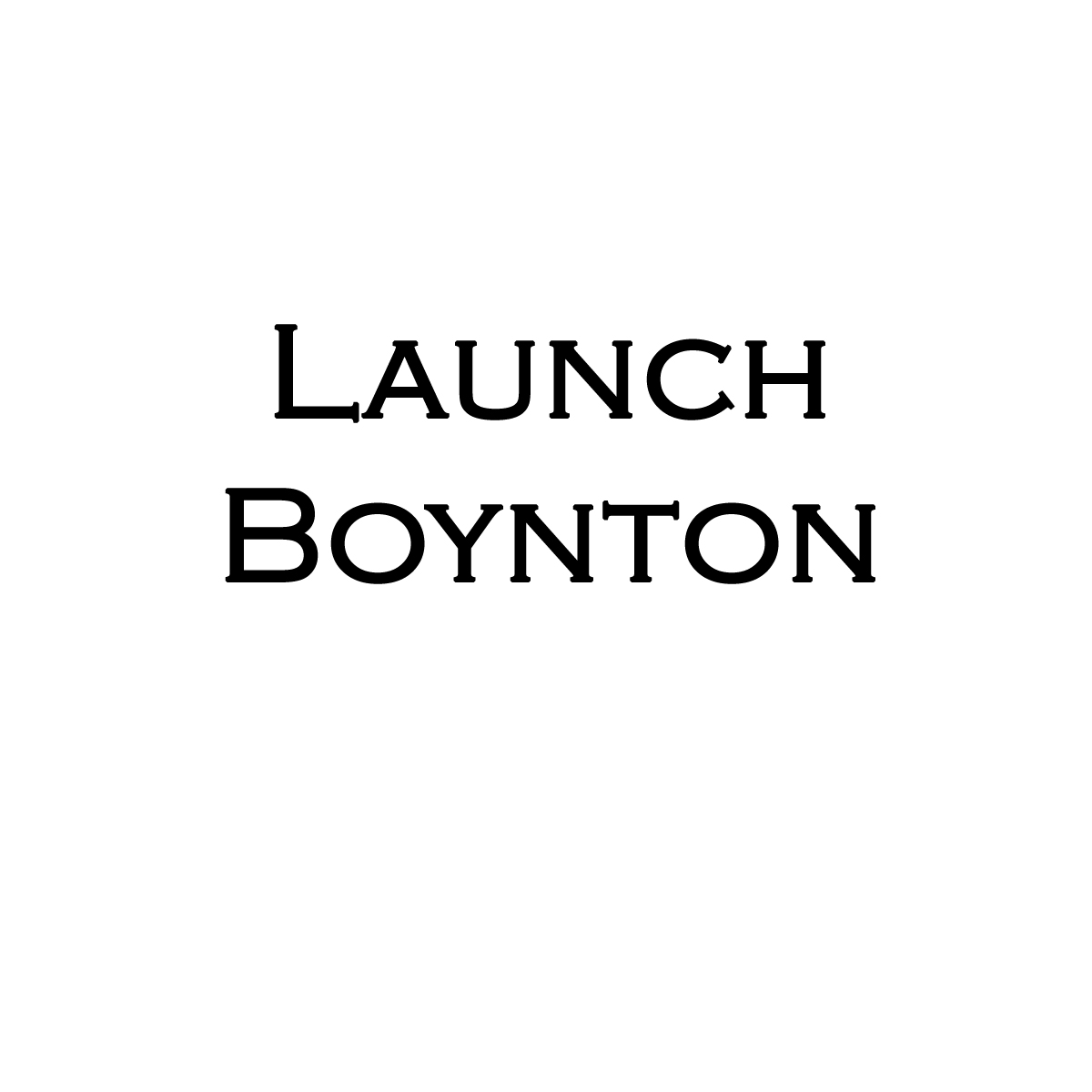 Launch Boynton