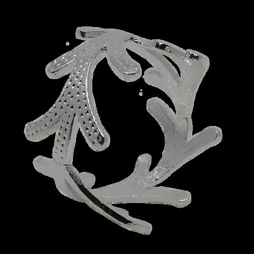 Silver Coloured Vine Napkin Ring