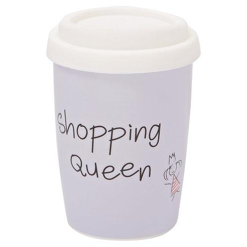 "Coffee to go Becher klein ""Shopping Queen"""