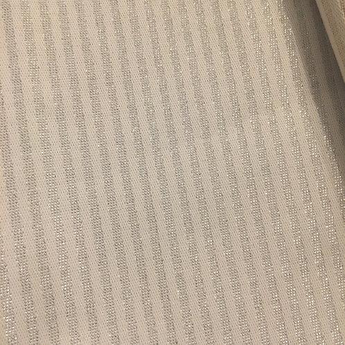 """Tischdecke """"Stripes"""" Silber"""