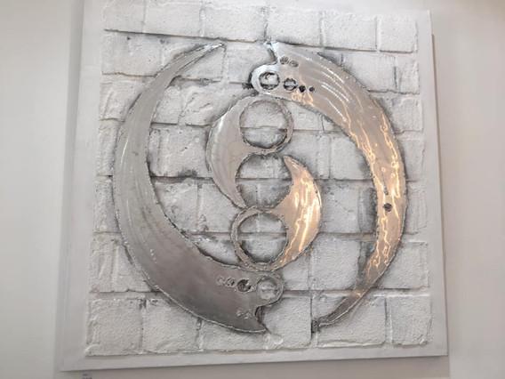 Modernes Yin-Yang - € 169,00
