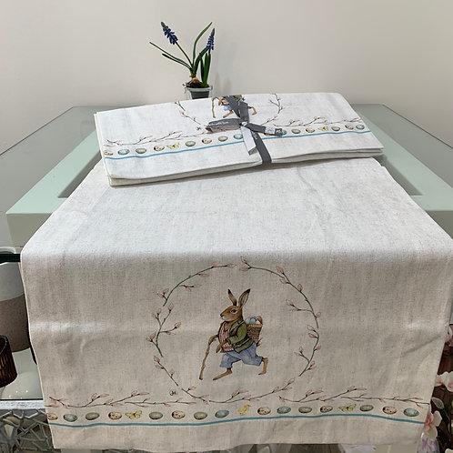 Tischläufer 'Edward Rabbit'
