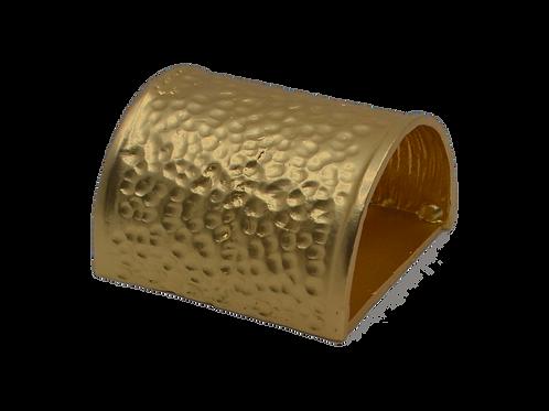 Beaten Gold Colour Napkin Ring