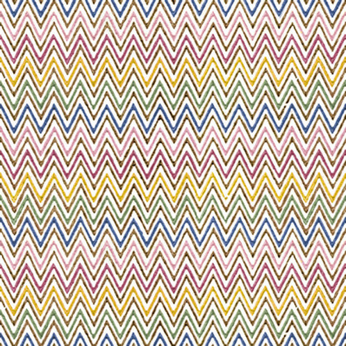 Paper Napkins - Zig Zag - Luncheon Size 20 Pack