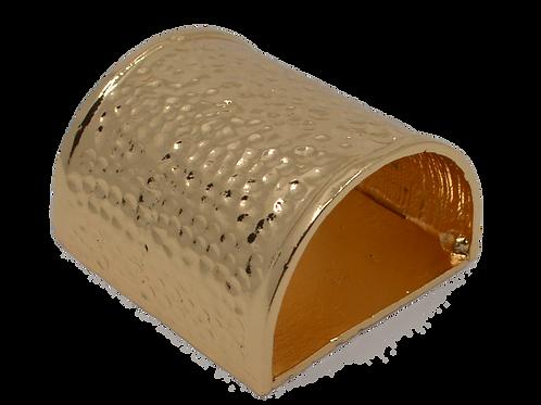 Beaten Champagne Colour Napkin Ring