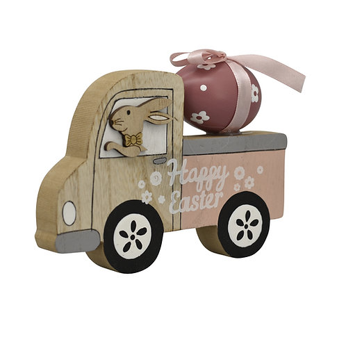 Auto 'Ei' aus Holz