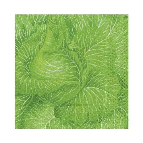 Caspari Paper Napkins - Cabbageware - Luncheon Size 20 per pack