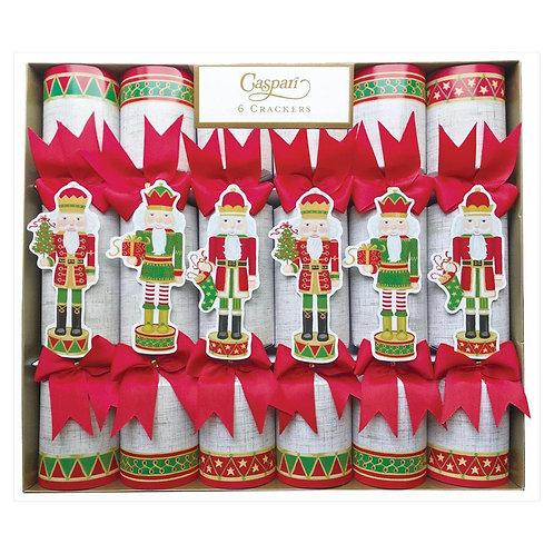 "Christmas Crackers ""Nutcracker Parade"" box of six crackers"