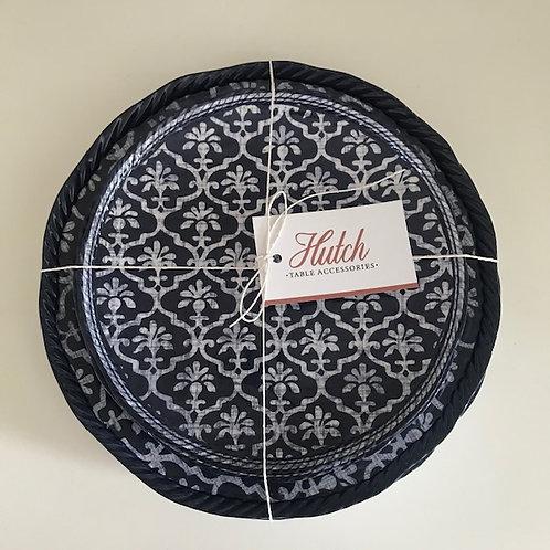 'Perfect Picnic Plates' -  Set of 8 (4 large/4 medium) Fine Melamine Plates