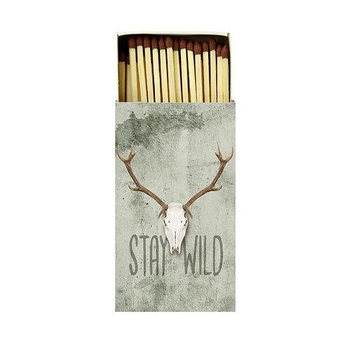 """Streichhölzer """"Stay Wild"""""""