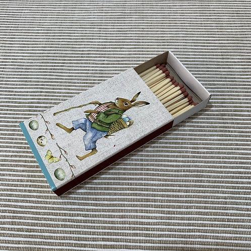 Streichholzschachtel 'Edward Rabbit'