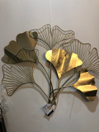 Wandelement 'Golden Leaves' - € 69,00