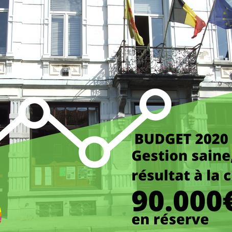 Budget  : 90.000€ en réserve, 5.000.000€ d'investissements!