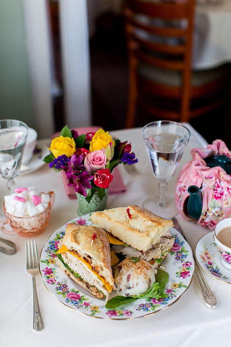 Tea lunch in Flemington