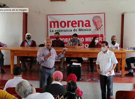 Se pronuncian morenistas contra los trepadores de la política