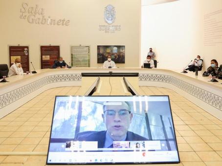 Participa Astudillo en reunión de la Conago y funcionarios encabezados por titular de Segob
