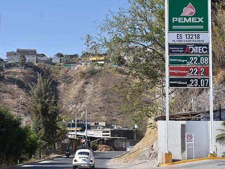 La gasolina más cara de México se vende en Chilpancingo