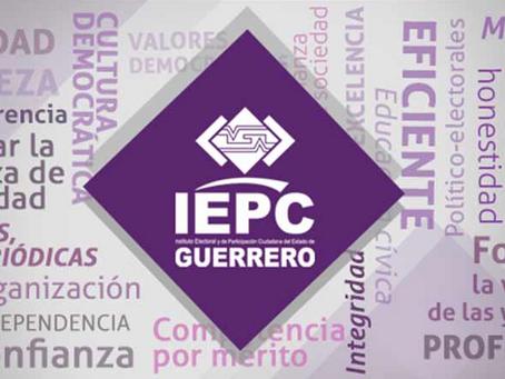 Renuncia el IEPCGro a dirigir el PREP en la votación de 2021
