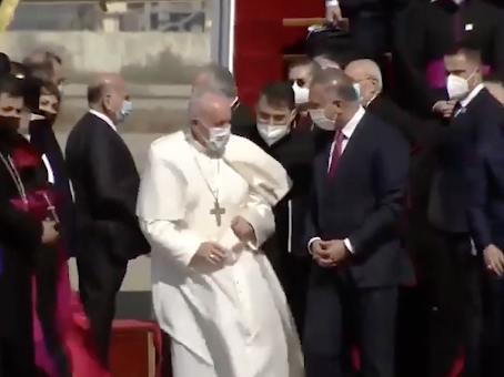 """""""Que callen las armas"""", reclama el Papa en histórica visita a Irak"""