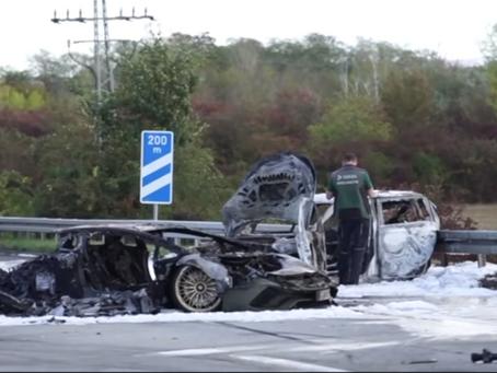 Influencer choca su Lamborghini y provoca accidente fatal