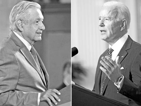 Vacunación: tema central de la reunión virtual de AMLO y Joe Biden
