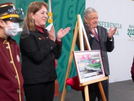 AMLO lanza rifa de palco en Estadio Azteca, casas y departamentos por 250 mdp