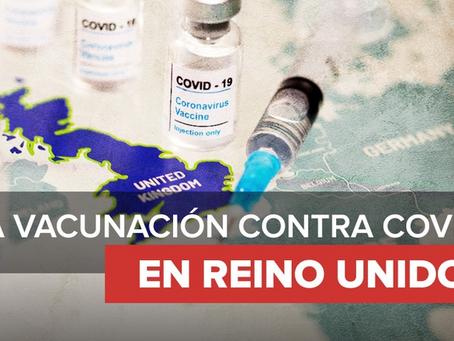 Reino Unido inicia campaña de vacunación contra covid-19