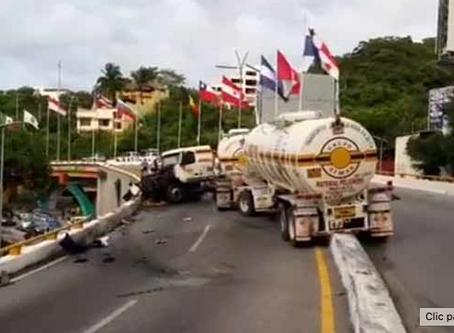 La alcaldía de Acapulco ha establecido el pago de un nuevo permiso, acusan transportistas
