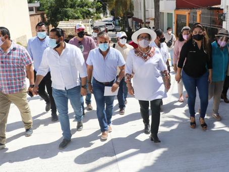 Supervisa Adela Román trabajos de limpieza y mejoramiento urbano en Costa Azul